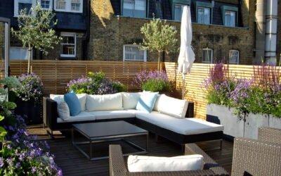 Projekt ogrodu na balkonie