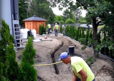 6. Nawodnienie ogrodu - System nawadniający - Gliwice Vera Garden